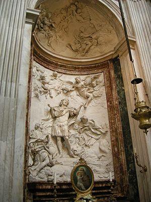 Melchiorre Cafà - Martyrdom of Saint Eustace