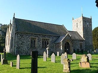 Llanrhaeadr-ym-Mochnant - St Dogfan's church