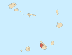 Location of Santa Catarina