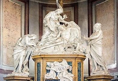 Santa Giustina (Padua) - Chapel of La Pieta - Pieta by Filippo Parodi