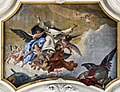 Santa Maria del Rosario (Venice) Nave ceiling by Tiepolo - The Glory of St Dominic.jpg