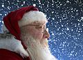 Santa Tim Stocken of Highland Lakes New Jersey on front deck Endico studio Sugar Loaf New York.jpg