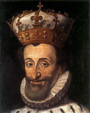 Santi di Tito - Portrait of Henry IV of France - WGA22718