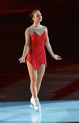 Sarah Meier in Art on Ice 2014