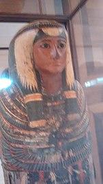 Sarcophagus of Sha-amun-en-su - Museu Nacional, Rio de Janeiro.jpg