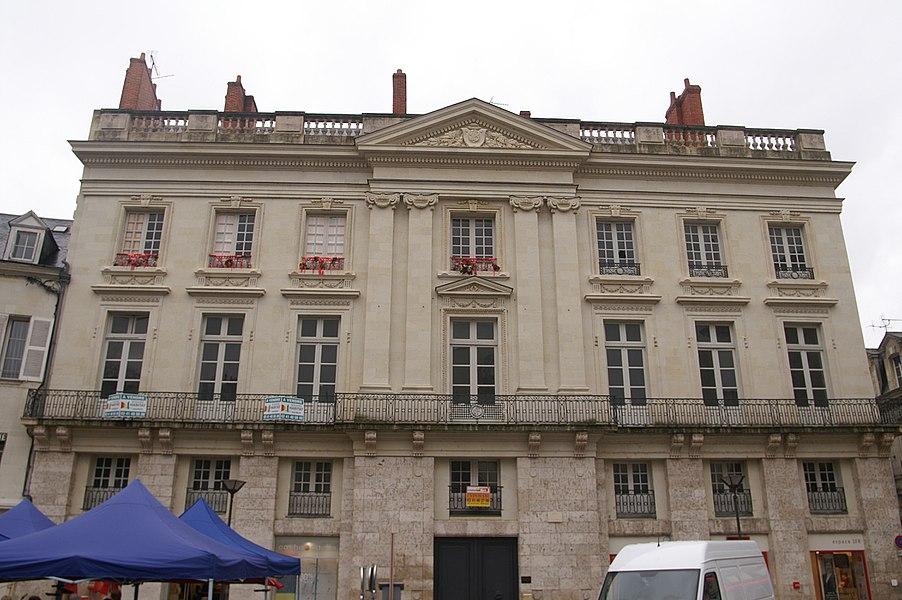 L'hôtel Blancher à Saumur.