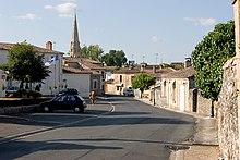 The Village Of Sauternes