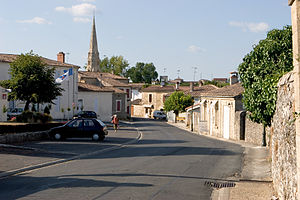 Sauternes (wine) - The village of Sauternes