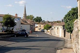 Sauternes, Gironde - Image: Sauternes 01
