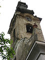 Savino Selo, The steeple of the Evangelical Church.jpg