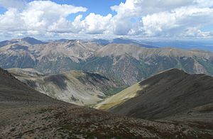 Sawatch Range - Sawatch Range near Buena Vista, Colorado.
