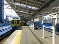 Sayamagaoka Station platform train jan22 2016.jpg
