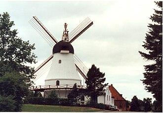 Vejle - Vejle's iconic windmill