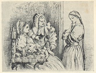 Characters in Romeo and Juliet - Lady Capulet and the Nurse persuade Juliet to marry Paris