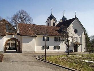 Böttstein Castle - Image: Schloss Böttstein Tor 1