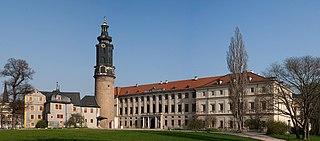 Schloss Weimar palace in Weimar, Germany