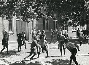 Recess (break) - 1934, Netherlands
