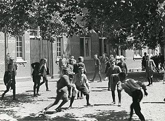 Recess (break) - Netherlands, 1934