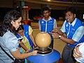 Science Career Ladder Workshop Participants Visiting Science City - Indo-US Exchange Programme - Kolkata 2008-09-17 01272.JPG