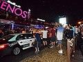 Scots Fans on the strip Gibraltar V Scotland 11 October 2015 (1).JPG