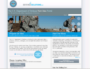 DoDTechipedia - DefenseSolutions Portal (DoDTechipedia External) 2009