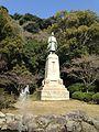 Sculpture of Shimazu Hisamitsu near Terukuni Shrine.jpg