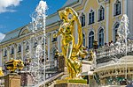 Sculptures on the Grand Cascade of Peterhof 05.jpg