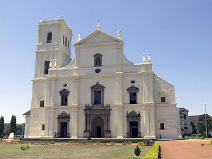 Roman Catholic Archdiocese of Goa and Daman - Cathedral of St Catherine of Alexandria in Old Goa