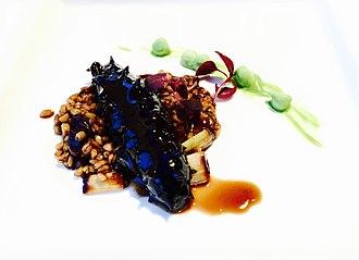 Sea cucumber as food - Image: Sea Cucumber with Scallions