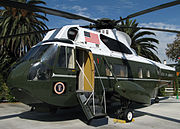 "The broad range of material which NARA preserves at the Presidential libraries is exemplified by the President's VH-3A ""Sea King"" helicopter at the Richard Nixon Presidential Library and Museum."
