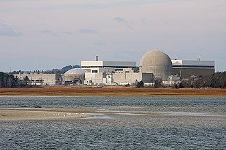 Economy of New England - Seabrook Station Nuclear Power Plant in Seabrook, New Hampshire.