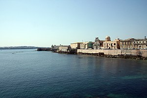 Seafront at Ortygia