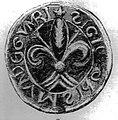 Seal of John Montgomerie of Eaglesham c 1170.jpg