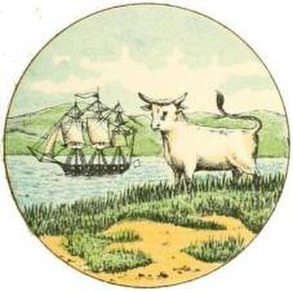 Coat of arms of the Falkland Islands - Image: Seal of the Falkland Islands (1876 1925)