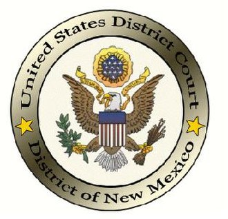 United States District Court for the District of New Mexico - Image: Seal of the U.S. District Court for the District of New Mexico