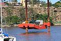 Sealift 7 - Drilling Barge, Brisbane River, April 19 2014. (14189157469).jpg