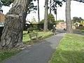 Seat in Mengham Lane - geograph.org.uk - 1302951.jpg