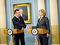 Secretary Clinton and Romanian Foreign Minister Sign Agreements (3583020873).jpg