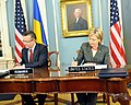 Secretary Clinton and Romanian Foreign Minister Sign Agreements (3583022615).jpg