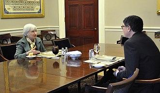 Janet Yellen - Secretary Jack Lew and Federal Reserve Chair Janet Yellen