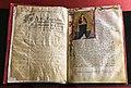 Seguace di taddeo di bartolo, codice della legenda beatae agnetis di raimondo da capua (montepulciano, archivio diocesano) 01.jpg