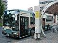 Seibu Bus A1-574 at Kiyose Station North Exit.jpg