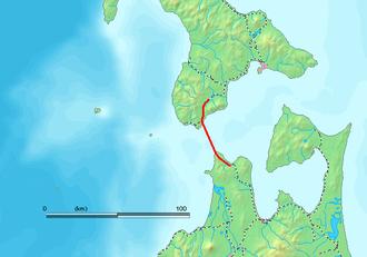 Seikan Tunnel - Map of the Seikan Tunnel