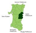 Semboku in Akita Prefecture.png