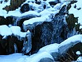 Semi-frozen waterfall on Blackcleugh Burn - geograph.org.uk - 1161225.jpg