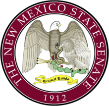 Description de l'image Senate Seal of New Mexico.png.