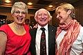 Senator Katherine Zappone, Michael D. Higgins and Dr. Ann Louise Gilligan, 2011.jpg