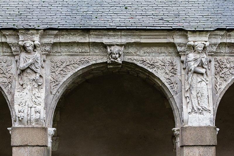 file septi me arcade de la galerie ouest du clo tre de l 39 ancienne abbaye saint melaine rennes. Black Bedroom Furniture Sets. Home Design Ideas