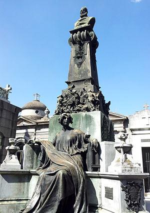 Francisco Javier Muñiz - Monument to Francisco Javier Muñiz, Cementerio de la Recoleta, Buenos Aires