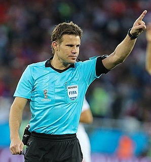Felix Brych German football referee